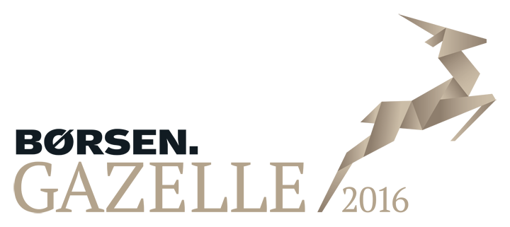 Børsen Gazelle logo 2016